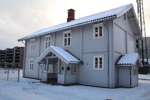 ETT AV TO: Administrasjonsbygget er det ene av to bygg som utgjør Frivillighetens Hus.