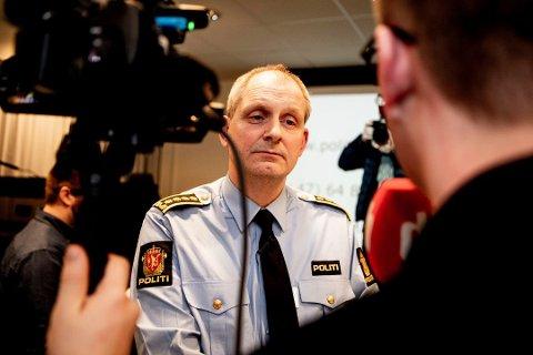 OPPDATERER: Politiinspektør Tommy Brøske i Øst politidistrikt gir offentligheten en oppdatering på bortføringssaken torsdag formiddag.