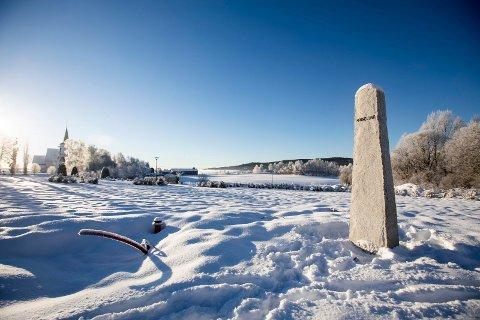Minnelund ved Sørum kirke som aldri blir ferdig