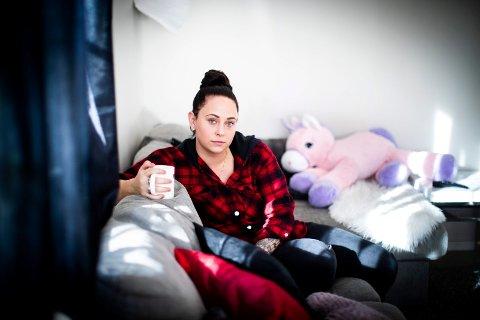VIL GJERNE JOBBE: Karianne Grøndahl (30) fra Maura falt utenfor arbeidsmarkedet etter svangerskapspermisjon.
