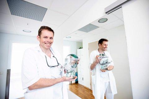 SKAL FORSKE PÅ SØVN: Overlege Harald Hrubos-Strøm ved øre- nese- hals- avdelingen ved Ahus vil finne skreddersydde behandlingsmetoder til pasienter som sliter med snorking og søvnapnè.