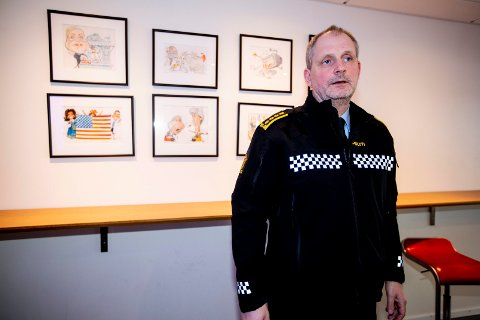 ØNSKER SVAR: Etterforskningsleder, politiinspektør Tommy Brøske, bekrefter at det mandag ble gjennomført lydtester i Sloraveien.