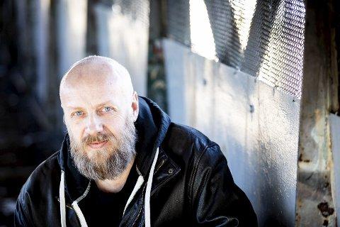 Forfatter: Bård Nannestad (51) gir ut sin andre bok « Mannen som elsket livet». Alle foto: Tom Gustavsen