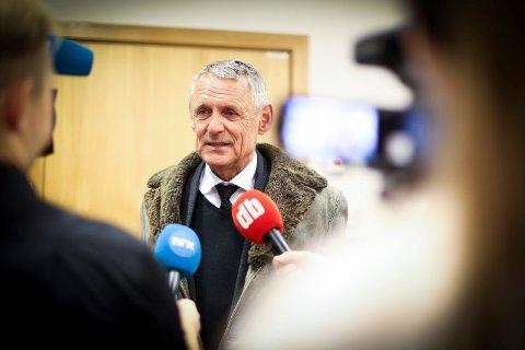 OPERERT: Forsvarer Dag Svensson forteller at 52-åringen ikke erkjenner straffskyld etter siktelsen på grovt brukstyveri.