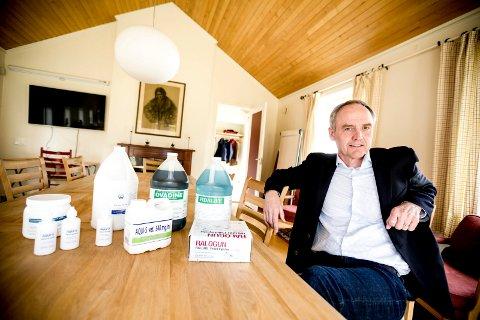 SELGER: Ole Kristian Kaurstad har hatt en voldsom suksess med selskapet han startet i 1997.