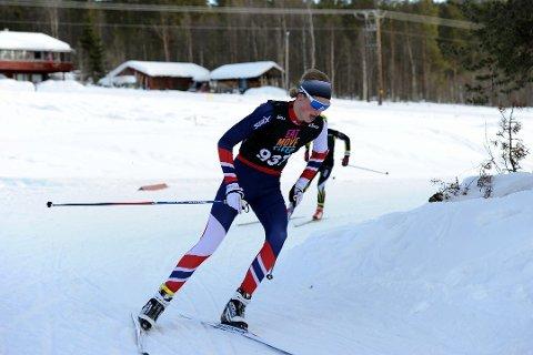 GULLFAVORITT: Lars Agnar Hjelmeset fra Nittedal er en av favorittene under helgens junior-NM.