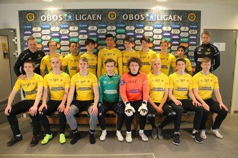 STOLT AV GRUPPA: Kaptein Markus Ådland Gulliksen gleder seg over hvordan Ull/Kisa-rekruttene responderte på å havne under 0-3.