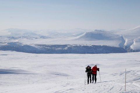 Røde Kors melder om en rolig påske - ikke siden 2014 har det vært registrert like få oppdrag og skader i påskefjellet. Avbildet er Rondane i Oppland. Arkivfoto: Håkon Mosvold Larsen / NTB scanpix