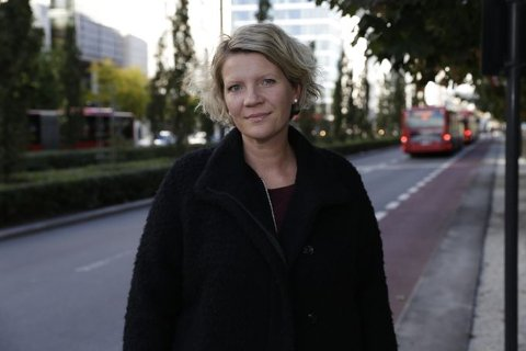 ADVARER: Kommunikasjonsrådgiver Gunhild Gjølstad i If.