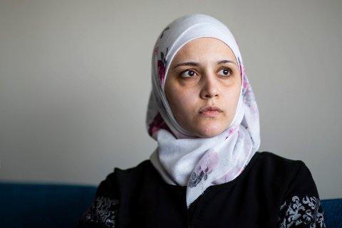 ALVORLIG SYK: Duaa Zyadeh har lymfekreft og vet ikke hvor lenge hun har igjen. Hennes største ønske er å møte igjen moren sin Safaa Fatehi Hafez som befinner seg i Egypt.