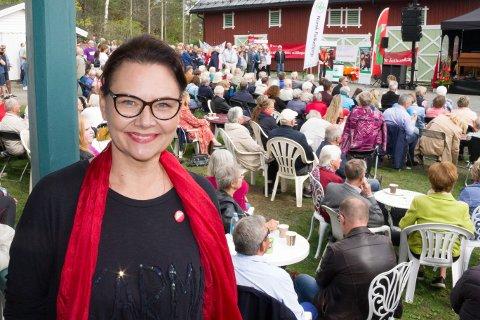 KLAR: Nancy Gogstad er klar til valgkamp som SVs førstekandidat.