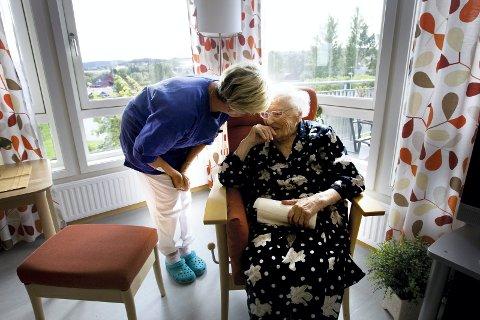 HELSESEKTOREN SLITER MED REKRUTTERING: 650 sykepleiere mangler i vår region.FOTO: GORM KALLESTAD / SCANPIX