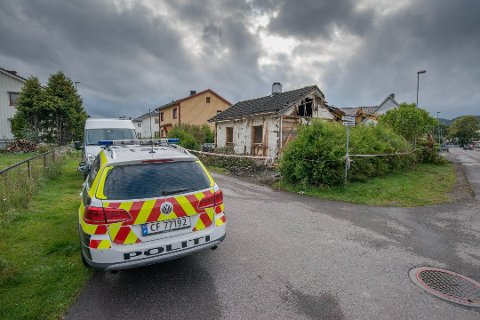 ÅSTEDET: I denne falleferdige boligen i Lillestrøm, som nå er revet, fant voldtekten sted. FOTO: VIDAR SANDNES