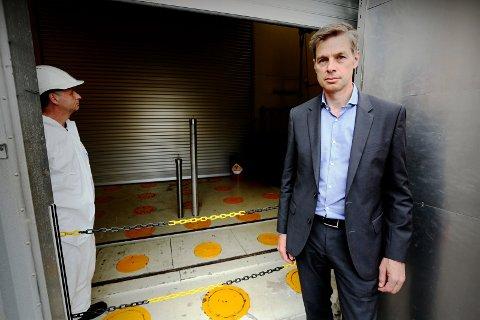 Stengt: Reaktoren er stengt og bemanningsbehovet mindre ved IFE,