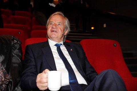 SKEPTIKER: Bjørn Kjos er toppsjef i Norwegian. Foto: Terje Bendiksby (NTB scanpix)