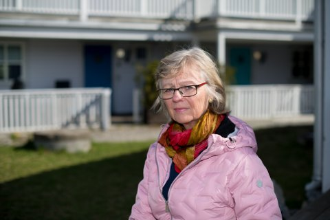 SJOKK: De ønsket seg en sum som muliggjorde kjøp av tilsvarende bolig i nærområdet. Nå kan alle de 22 boligeierne måtte bli boende på det nedlagte søppeldeponiet. Her med Marianne Mikkelsen.
