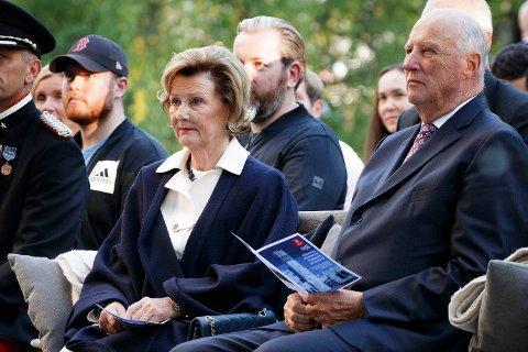 SYKEMELDT: I dag kom meldingen om at Dronningen er sykemeldt. Foto: (NTB scanpix)