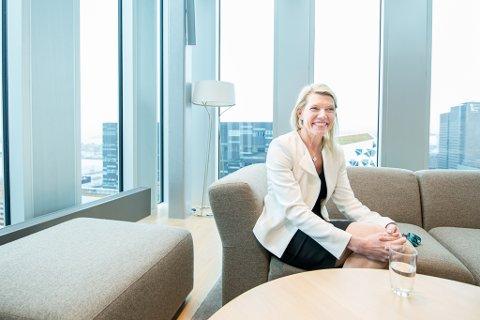 Kjerstin Braathen fra Lillestrøm er DNBs nye toppsjef. (Foto: Vidar Sandnes)