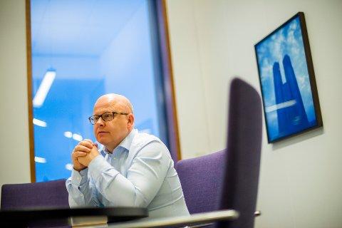 Dempet prisvekst: Tidligere Selvaag bolig-sjef Baard Schumann tror boliglageret blir for stort i Vestby til at en sterk prisvekst er sannsynlig.  Foto: Fredrik Varfjell / NTB scanpix