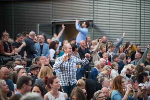 Byfesten 2019 ble en publikumssuksess. Foto: Vidar Sandnes