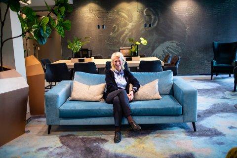 GODT ÅR: Hotellsjef Sissel Tørnby leder et hotell i medvind.