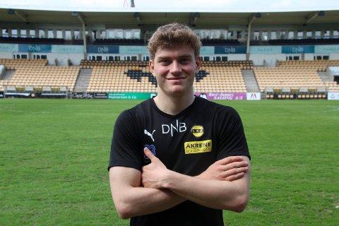 MED KONTRAKT: Junioren Philip Slørdahl har signert sin første kontrakt. Den binder ham til LSK ut 2022.