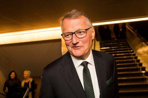 KRITISK: DNBs avtroppende konsernsjef Rune Bjerke er kritisk bankenes utlånspraksis på forbrukslån. Foto: Håkon Mosvold Larsen / NTB scanpix