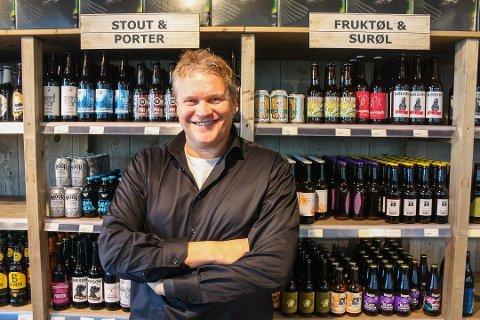 Positiv: Rolf Ivar Skår i Gulating kan fortelle at selskapet nå skal satse på franchisekonsept.