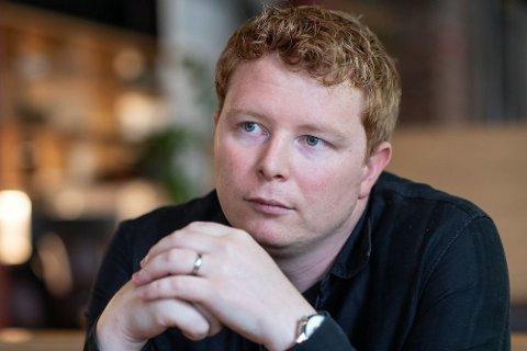 Nettavisens motorekspert Magnus Blaker. Foto: Lars Opstad (Mediehuset Nettavisen)