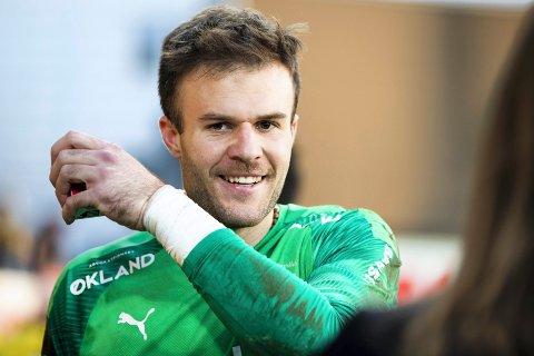 Grunn til å smile: Marko Maric har holdt seg unna tabber denne sesongen. Sisteskandens egenskaper hylles også av treneren. Foto: NTB scanpix