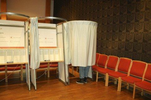 ÅPNER MANDAG: Fra og med mandag 12. august er det mulig å avgi forhåndsstemme til høstens kommunestyre- og fylkestingsvalg.