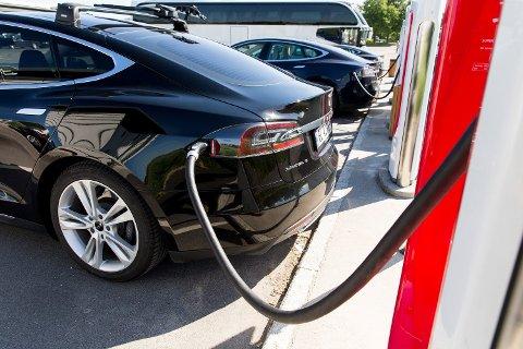 BETYR LITE: Selv en full elektrifisering av hele den norske bilparken betyr lite for det totale strømforbruket i Norge.