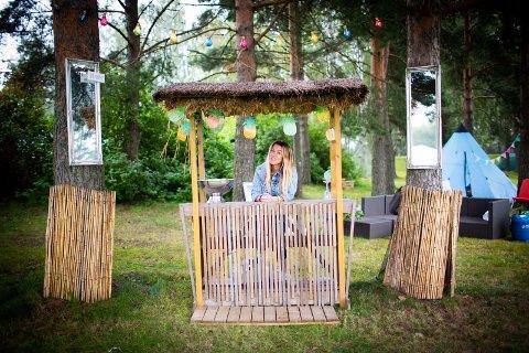 Tror på Lillestrøm: Arrangør Anita Fjellvang (46) fra Skedsmokorset gir ikke opp troen på å få til en festival i Lillestrøm. Nå krysser hun fingrene for at folk er klare for glamping.