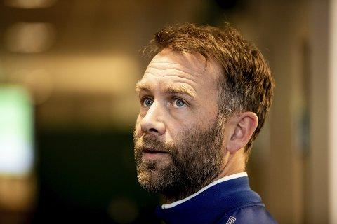 TUNG KVELD: Ull/Kisa-trener Trond Fredriksen var skuffet etter å ha sett laget sitt tape for Raufoss. Foto: Arkiv
