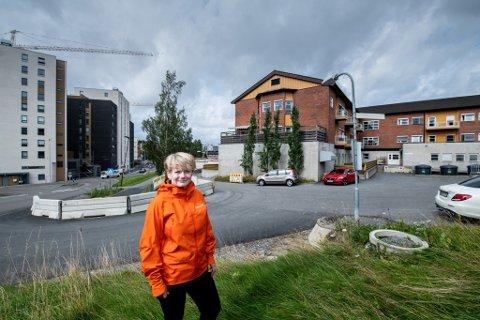 VIL TILREKKE KOMPETANSE: Ordfører Ragnhild Bergheim (Ap) tror det er viktig å fortsette å bygge leiligheter i alle størrelser i kommunen, for å tiltrekke den kompetansen kommunen trenger på blant annet sykehjem og skoler.