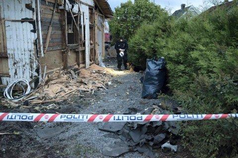 VOLDTATT: En tyrkisk 41-åring erkjenner å ha voldtatt en kvinne i 30-årene i dette huset i Lillestrøm i 2015. Huset er nå revet.