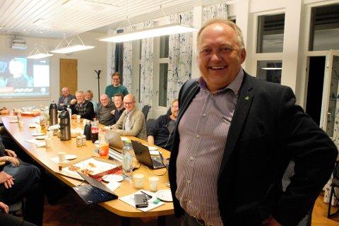 Ydmyk: En lettet og veldig glad ordfører har ambisjoner om å bli ordfører i Eidsvoll de neste fire årene.