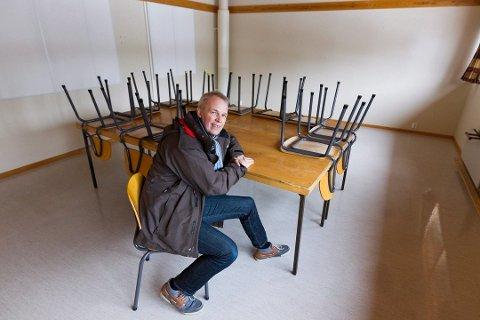 IKKE STØTTE: Styreleder Paal-Mogens Furuseth i Hoppensprett Barneskole Jessheim.