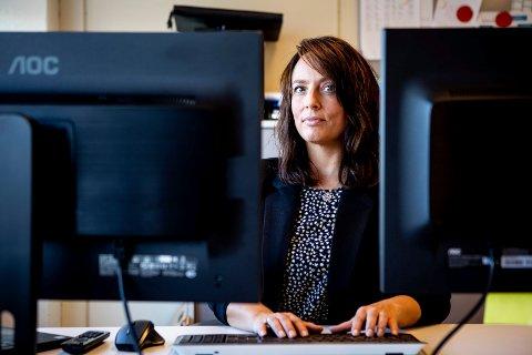 – BØR BLI EN OFFENTLIG SAMFUNNSDEBATT: Barnevernleder Cecilie Fremo Bergkvam mener det er på høy tid at man tar opp trusselbildet som til stadighet er rettet mot ansatte i barnevernet. Selv står hun oppført på flere hatlister som ligger ute på internett og i sosiale medier.