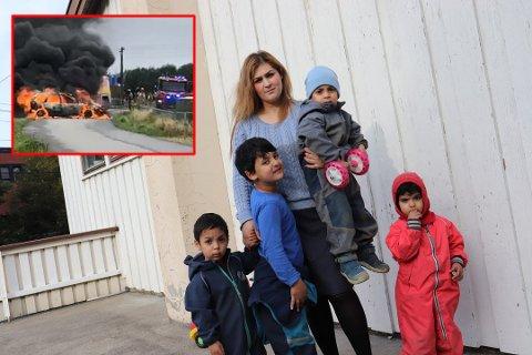 Preget: Firebarnsmoren Nayab Tahir fra Oslo, har tenkt mye på hendelsen på Kløfta den siste tiden. – Det kunne ha gått så mye verre, forteller hun til RB.