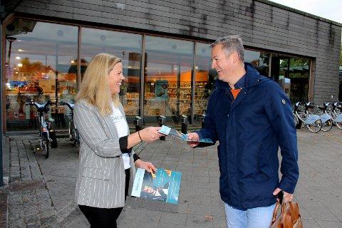 GODT MOTTATT: Jarle Blindheim fra Kjeller var en av flere lesere som ønsket budskapet fra MittLillestrøm-journalist Tina Aardahl velkommen.