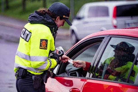 Tirsdag var det stor kontroll på Kløfta i Ullensaker. Da ga politiet ut mange reaksjoner.