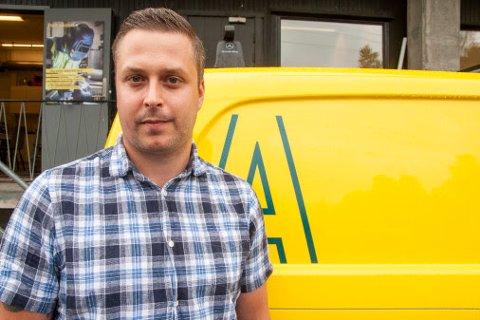 Servicesjef Lasse Svendsen leder Assemblins serviceavdeling på Kjeller