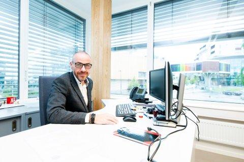 PÅ LØNNSTOPPEN: Tom Staahle (Frp) i Ullensaker er Romerikes suverent best betalte ordfører.