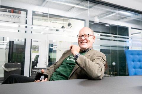OPTIMIST: Ernst-Modest Herdieckerhoff, varaordfører i Lørenskog.