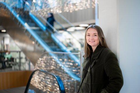 STOPP: Kjøpestopp er Eline Ohr sitt bidrag til klimakampen.