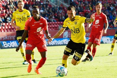 TIL BRANN?: Daniel Pedersen har reist til Bergen.