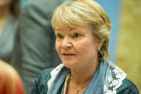 AVTALEBRUDD: Kari Kjønaas Kjos fra Lørenskog støtter partiets beslutning om å forlate regjeringen.