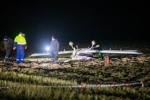 BEKREFTET OMKOMMET: En 72 år gammel mann fra Romerike er bekreftet omkommet i sportsflyulykken.