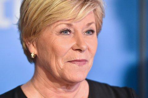 Frp-velgerne støtter Siv Jensen i at det var rett å gå ut av regjering. Foto: Fredrik Varfjell / NTB scanpix